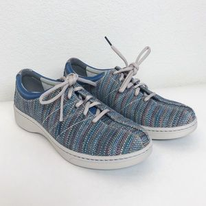 Dansko Colorful Lace Up Sneakers with Arch Support